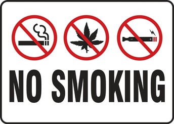 No Smoking in the Parking Lot