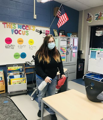 Keeping our School Clean