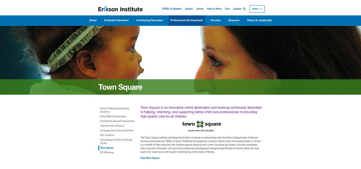 Erikson's Town Square