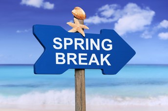 We hope you had a great spring break, Generals! We'll see you tomorrow!