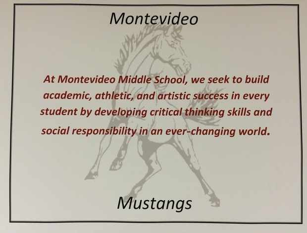 At Montevideo Middle School, we seek to build academic, athletic, and artistic success in every student by developing critical thinking skills and social responsibility in an ever-changing world.