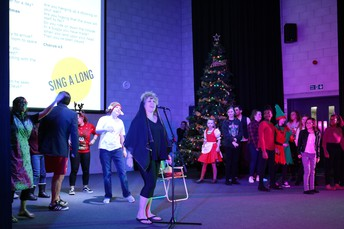 Staff Pantomime and Singalong