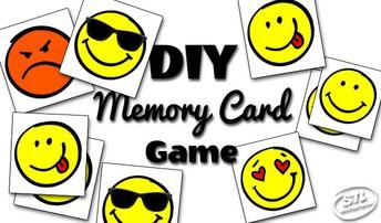 DIY Memory Card Game