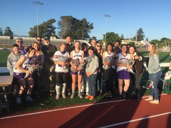 Our Seniors with their parents!