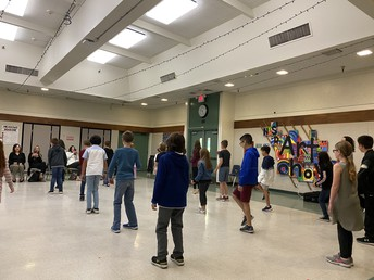 4th Grade Folk Dance Program Culmination