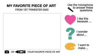 1st Trimester Art Reflection