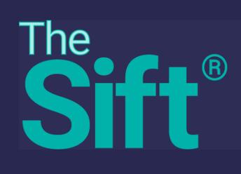 Logo for The Sift newsletter