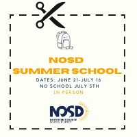 NOSD Summer School - Save the dates!