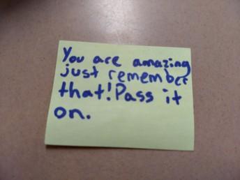 Most Random Acts of Kindness Honorable Mention Winner Eve Tanaskoska
