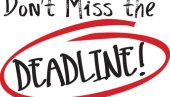 College Admissions Deadlines