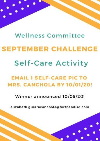 September Wellness Challenge