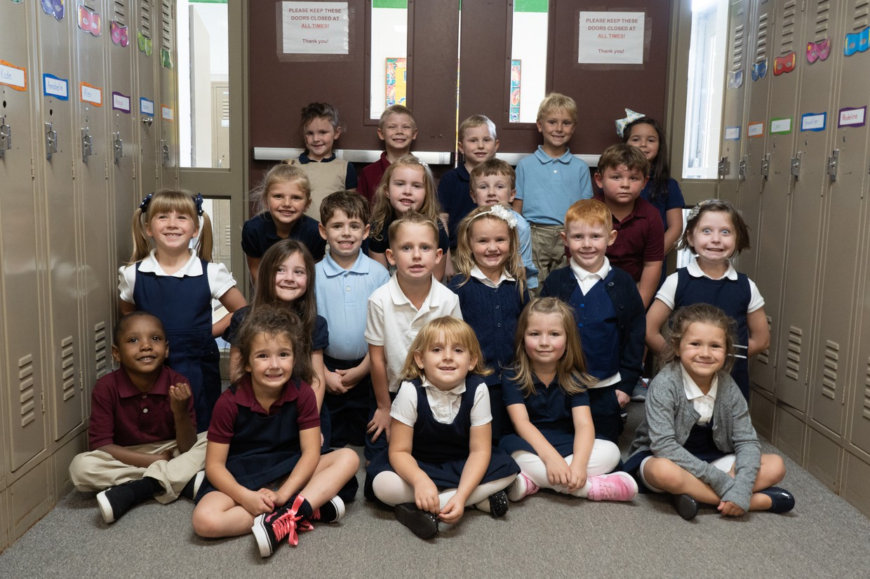 1st day kindergarten for Mrs. Idoni's class