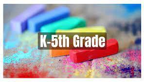 PreK thru 5th Grade Reading Lists