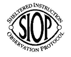 Sheltered Instructional Observation Protocol (SIOP)