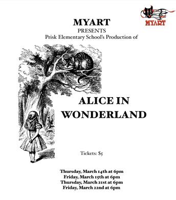 March 21st & 22nd: Alice in Wonderland