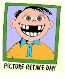 Picture Re-takes on Monday