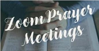 Virtual Prayer and Flag - Join us!