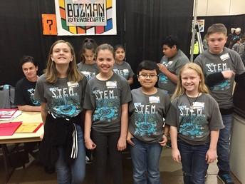 Bozman Competes at CISD's Scimathelon Competition