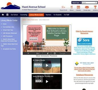 Hazel Avenue School LMC Website