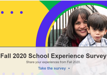 Family School Experience Survey Due