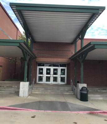 E Hall Gym Entrance