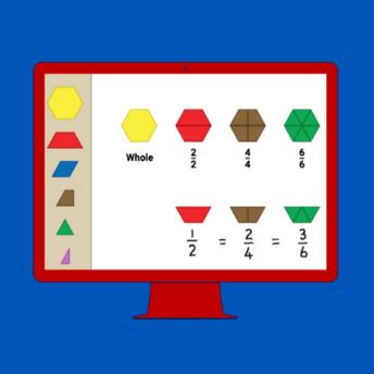 Exploring Fractions through Virtual Manipulatives