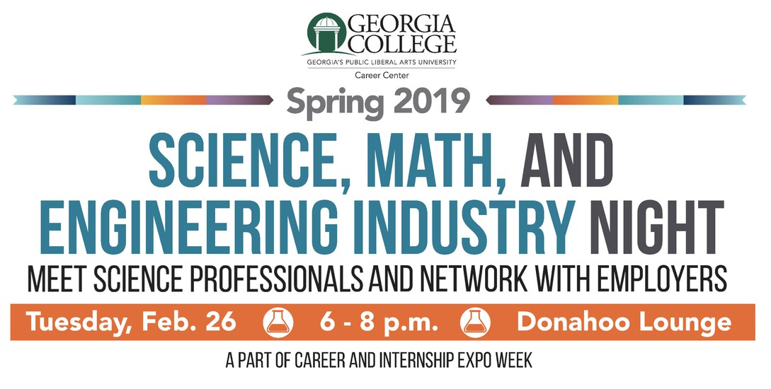 Career & Internship Expo Week: Science, Math, & Engineering Industry Night