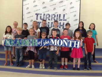 2/3-5th Grade August and September Readers of the Month