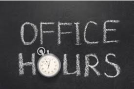 Karin's Office Hours and Meetings