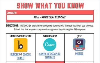 Show What You Know! - Click the image above!