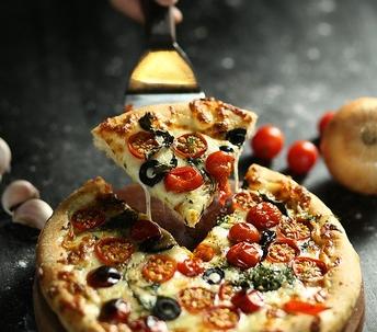 My fav food is pizza
