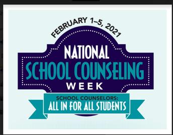 Happy School Counseling Week, Mr. Plutschak!