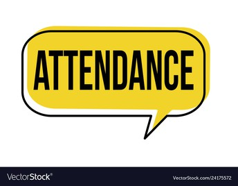 How do I enter my attendance when I am learning from home?
