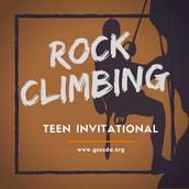 Rock Climbing (Youth Department)