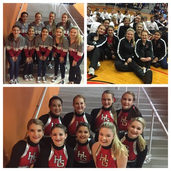 Trojanettes Place Second in First Competition