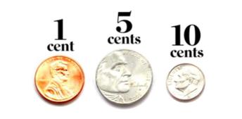 Penny, Nickel, Dime