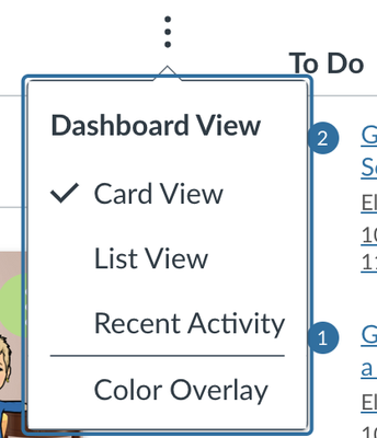 STEP 1: Be in Card View