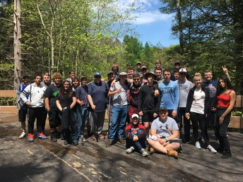 Nescopeck State Park hosted the Watershed Team