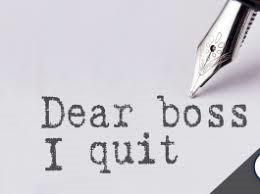 Resignations & Retirement