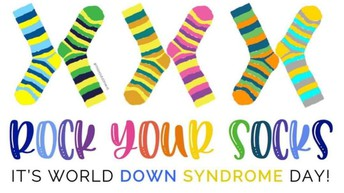 World Down Syndrome Day - Rock Your Socks! - Spirit Day