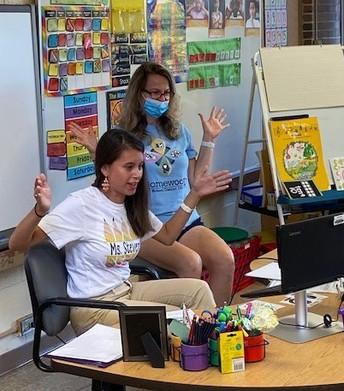 Ms. Stevens and Mrs. Mastela