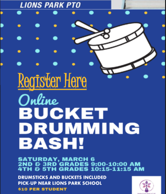 PTO DRUMMING EVENT
