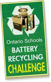 Ontario Schools Battery Recycling Challenge Continues!