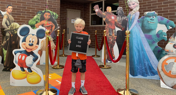 Paramount welcomes kindergarten with red carpet