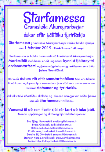 Starfamessa náms- og starfsráðgjafa