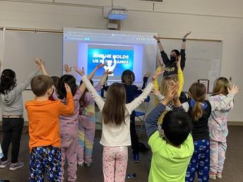 2L led a wonderful, faith-filled school assembly!