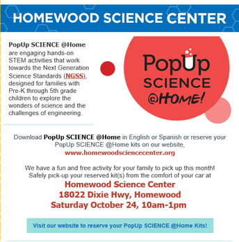 Pop Up Science