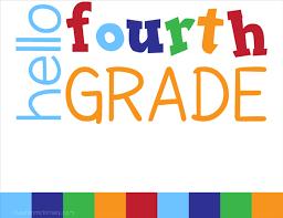4th Grade Schedules