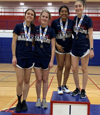 Perry Badminton State Champions