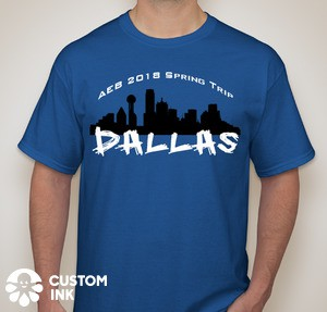 Last Chance to Order a Dallas Shirt!